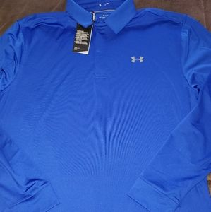 Nwt under armour ls mens shirt xl new lo